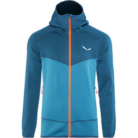 SALEWA Puez 3 PowerLite Full-Zip Hoodie Men poseidon